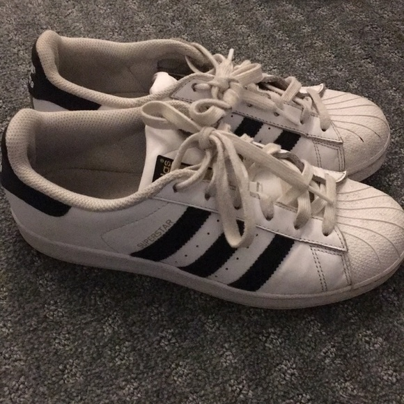 47f3af644951 adidas Shoes - Adidas superstar gently used men s 6.5 women s 8.5